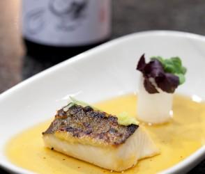 Black cod - Black cod, miso & Japanese consommé