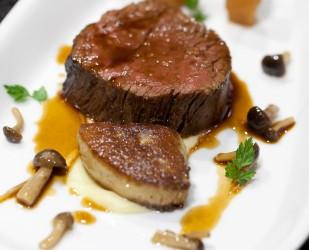 Beef fillet - Bio-Rinderfilet, Foie gras & Hon Shi Meji